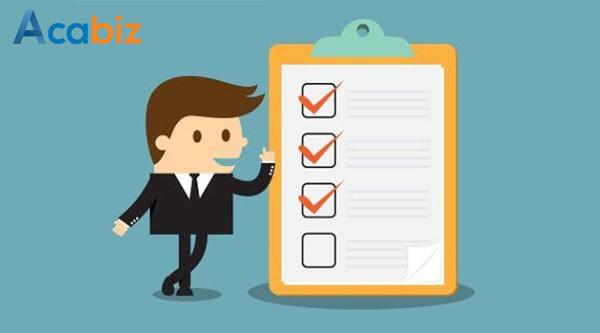 Các phương pháp đánh giá hiệu quả công việc