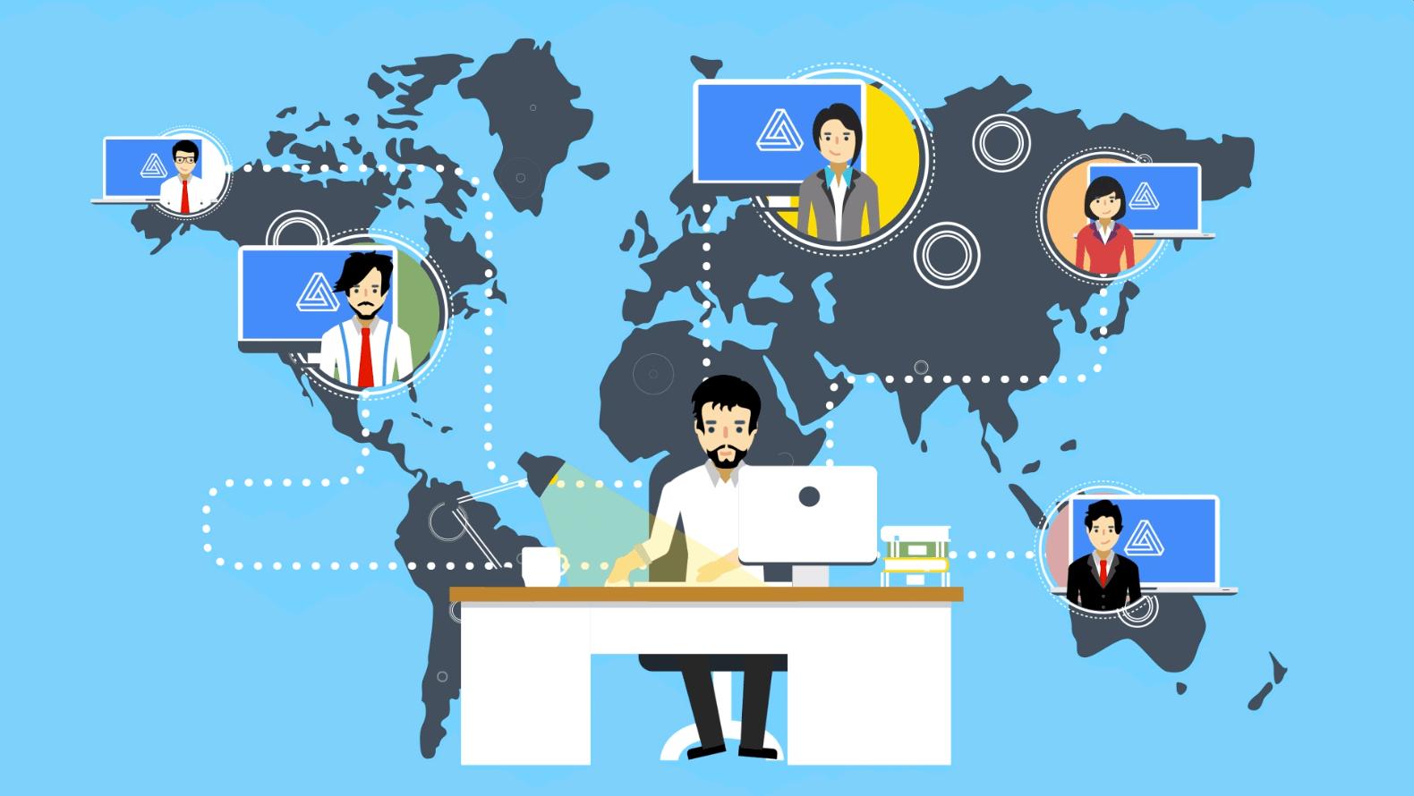 Những yếu tố giúp doanh nghiệp làm việc từ xa hiệu quả