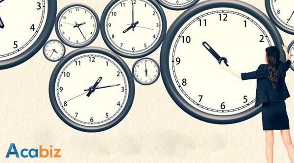 Phương pháp sử dụng hiệu quả giờ làm việc đầu tiên