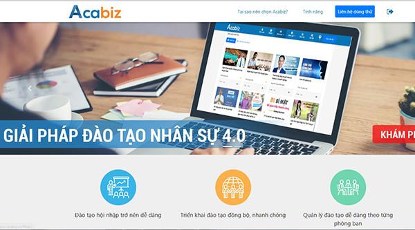 Acabiz – Giải pháp đào tạo doanh nghiệp trực tuyến tối ưu