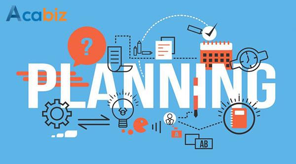 Lưu ý khi lập kế hoạch công việc – liệu bạn đã làm đúng?